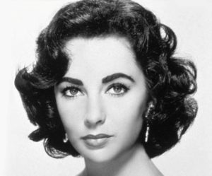 elizabeth taylor well defined curls