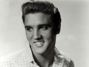 elvis presley classic 50s hairstyle