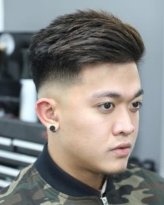 low fade asian hairstyle