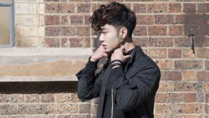 pompadour asian style