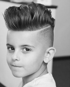 pompadour for little boys