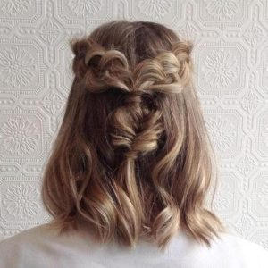 quite simple hairstyle
