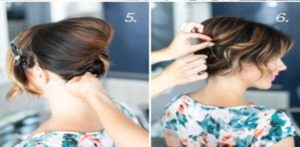 this is a hairstyle that can be perfect for a gala evening