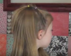 twisted hair backwards