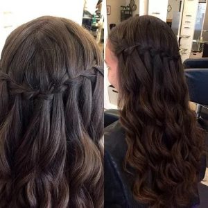 #2 Waterfall Braid with Waves