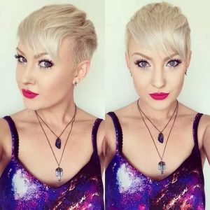 #7 Faux Mohawk with Bangs