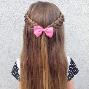 Accessorize the hairstyle