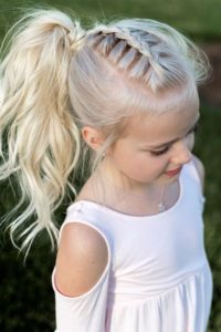Braid and ponytail 2