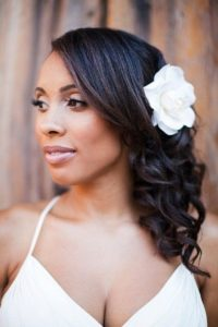 Bridesmaids' hairstyles for African American hair
