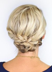 Bridesmaids' hairstyles for short hair