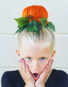 Crazy hairstyles for girls pumpkin