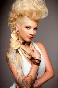Crazy hairstyles for long hair blonde