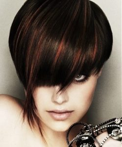 Crazy hairstyles for short hair bob pixie