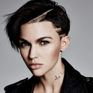Crazy hairstyles for short hair ruby rose
