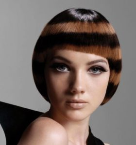 Crazy hairstyles for short hair with bangs