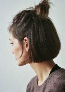 Half ponytail