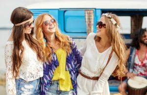 Hippie 70s hairstyles