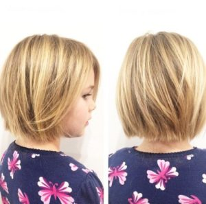 Mid length hairstyles for girls