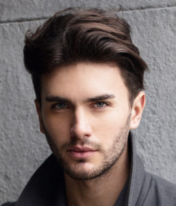 Mid length hairstyles for men