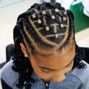 Patterned braids