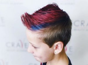 Punk hairstyles for little girls