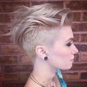 Short Hair Undercut for Women