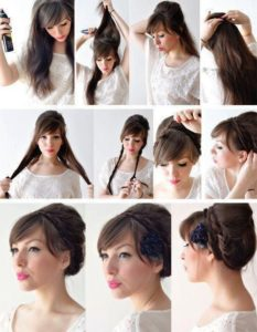 Victorian Hairstyles for long hair 2