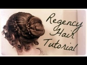 Victorian Hairstyles for long hair 3