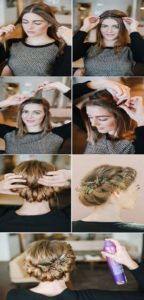 Victorian Hairstyles for medium leght 4