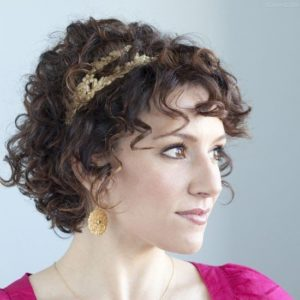 Victorian Hairstyles for short hair black hair