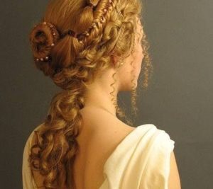 Victorian Hairstyles redhead