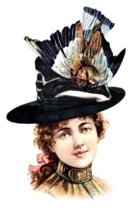 Victorian hairstyles with hats