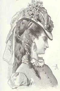 Victorian hairstyles with hats 4