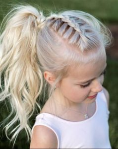 Viking Hairstyles for children