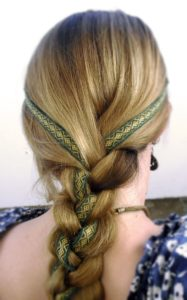 Viking hair accessories for women