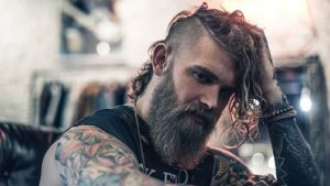 Viking hairstyles male