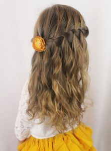 Wavy Hairstyles for Girls