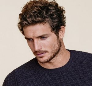 Wavy Hairstyles for Men with Short Hair