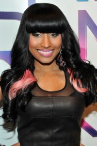 Weave hairstyles for women and girls pink hair