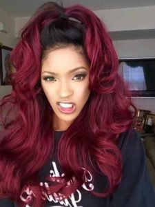 Weave hairstyles for women and girls red hair