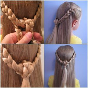 beautiful braid crown