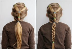 cute long braid
