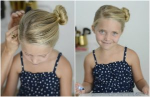 cute simple hairstyle