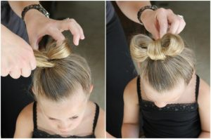 ponytail for girls