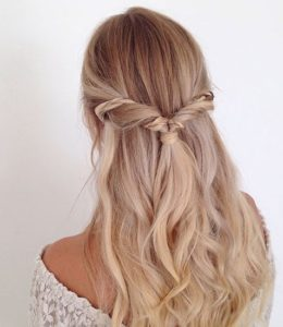 twisted half braid