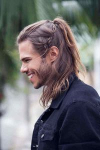 viking hairstyle man