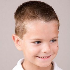 Army Man Hairstyle for kids