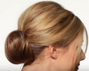 Bun for hair