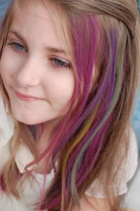 Dyed Hairstyles for Kids