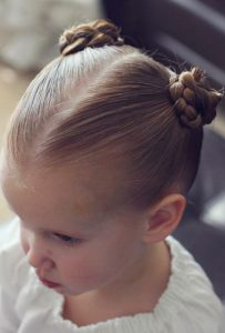 Easy hairstyle for thick hair